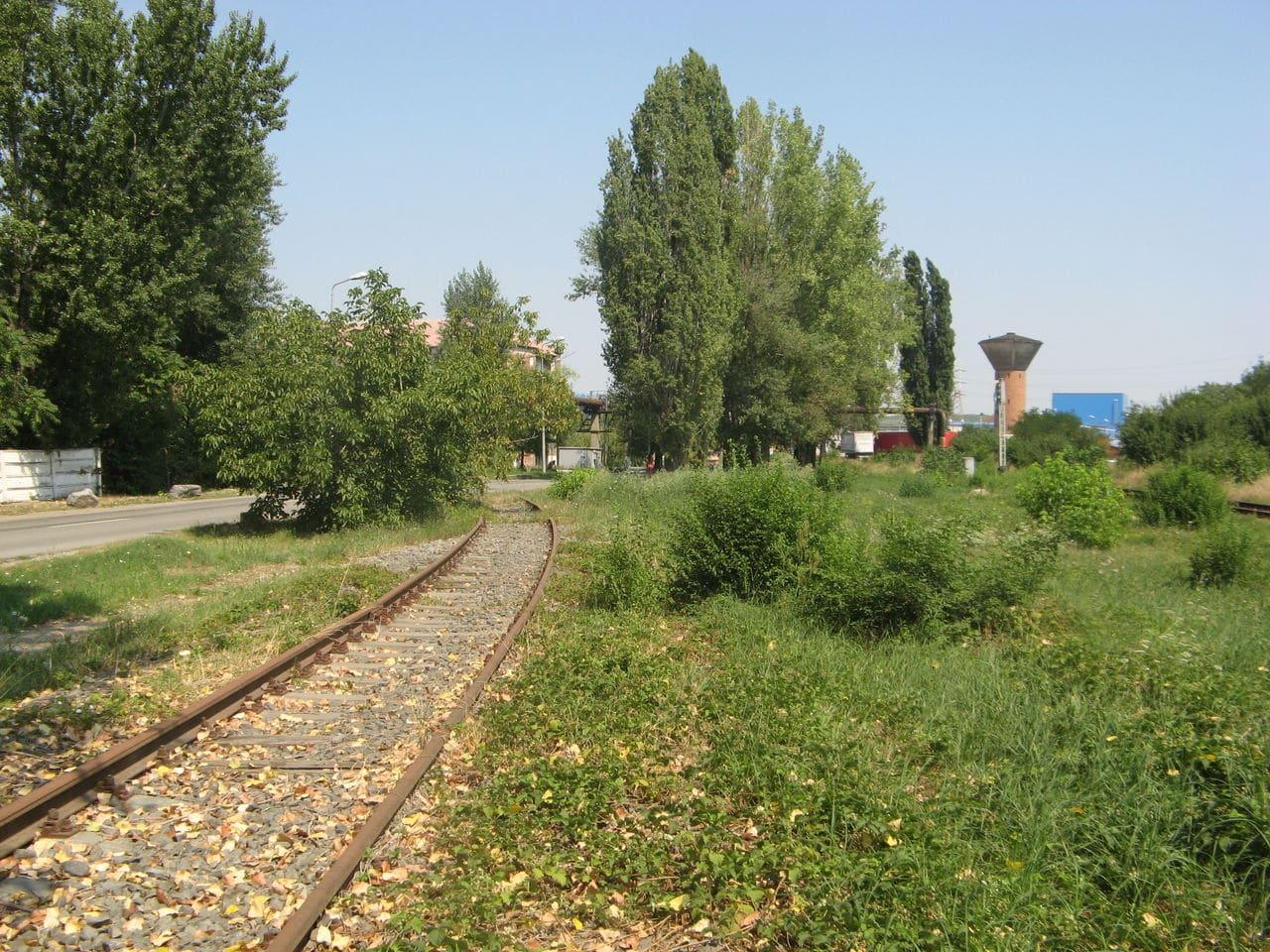 Calea ferată directă Oradea Vest - Episcopia Bihor IMG_0036