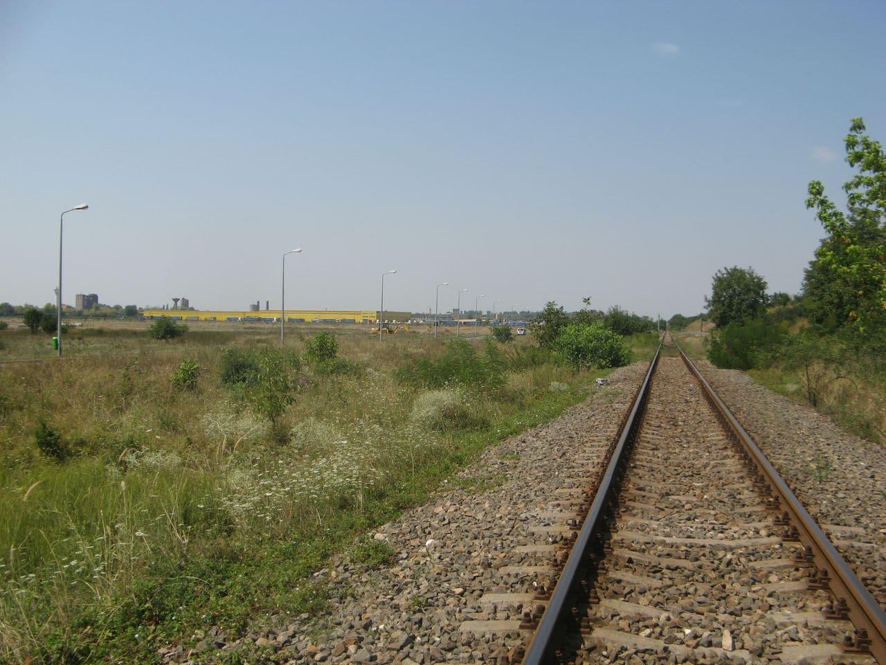 Calea ferată directă Oradea Vest - Episcopia Bihor IMG_0054