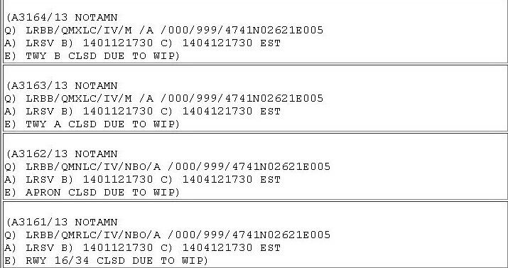 AEROPORTUL SUCEAVA (STEFAN CEL MARE) - STIRI - DISCUTII - Pagina 3 NOTAM_LRSV_2014