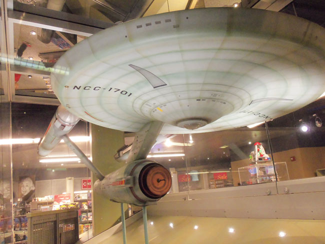 STAR TREK USS Enterprise at the Smithsonian  Before