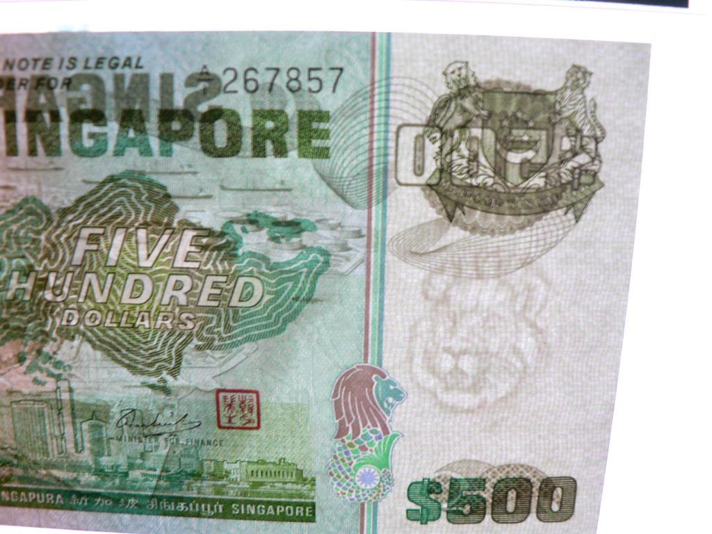 500 Dólares Singapur, 1977 Sgp500m