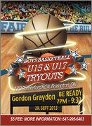 Brampton - U15, U16, U17 Tryouts Tryouts September 29 U15_U17web