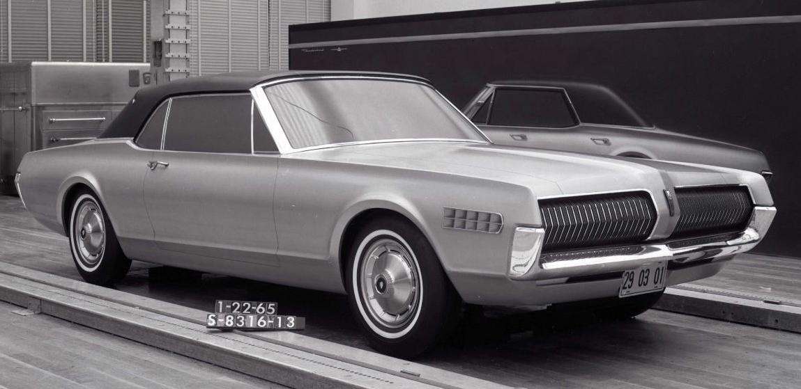 pour se rincer l'oeil - Page 4 001-cougar-development-convertible-mockup-four-door-rendering