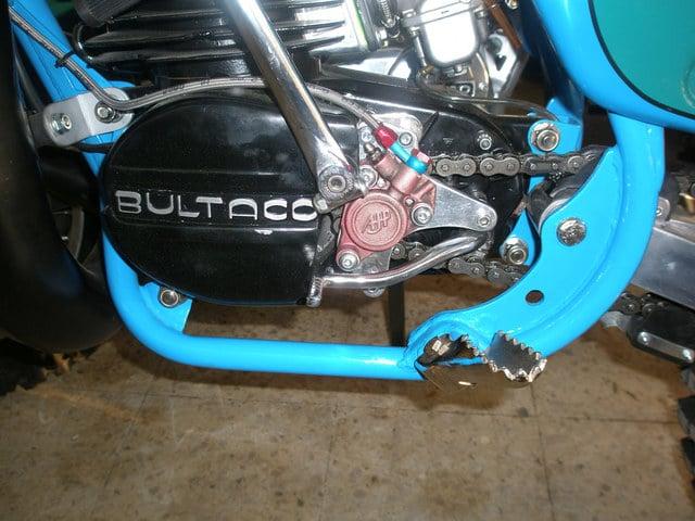 Embrague hidraulico en Bultacos. Embr