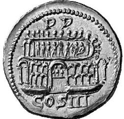 Glosario de monedas romanas. ESTADIO DE DOMICIANO. Image