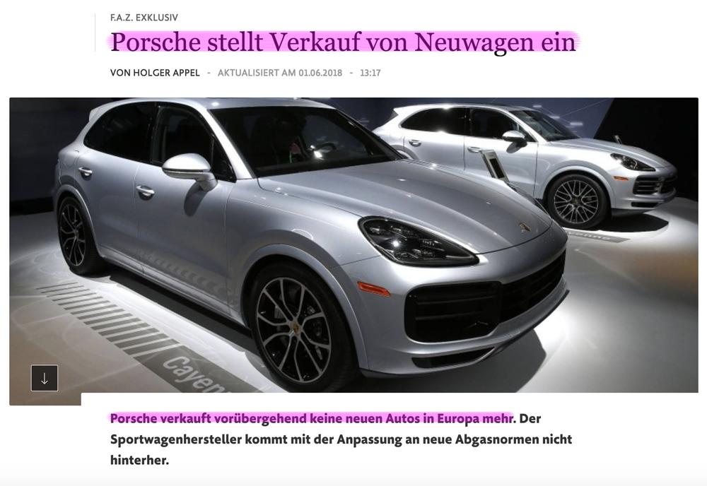 VW-Skandal - Seite 2 Porsche