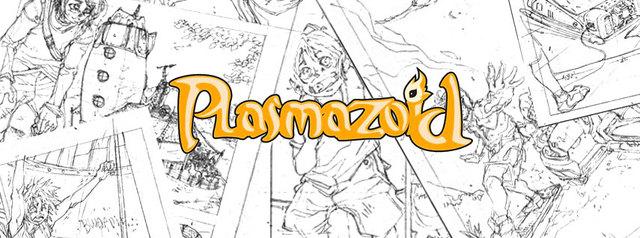 Plasmazoid - Webcomic - Estudo de Personagens, Rascunhos ... - Página 3 Facepagenew