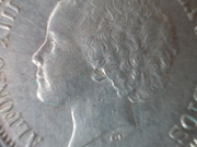 5 Pesetas 1.893. Alfonso XIII. PGL. Con repinte DSCN1493