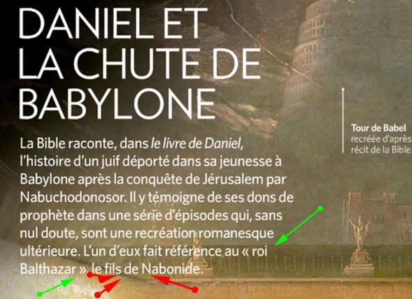 Prophétie Ratée de Daniel ou Daniel n' a jamais existé ? Image