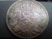 5 Francos 1853. Leopoldo I. Bélgica. IMG_20180826_183233