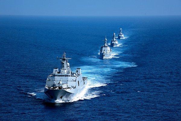 Islas en conflicto en Sudasia- Spratley,Paracel - conflictos, documentacion, acuerdos y articulos Chinanavysouthsea