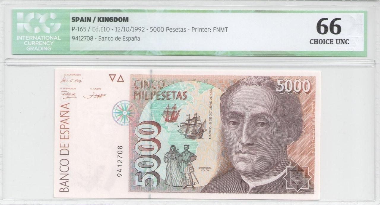 Colección de billetes españoles, sin serie o serie A de Sefcor - Página 2 5000_del_92_anverso