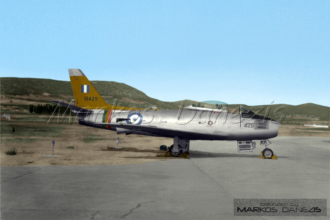 f-86e sabre haf 1/72 COLOR_F_86_E