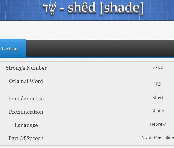 Les Djinns./shedim en Judaisme Image