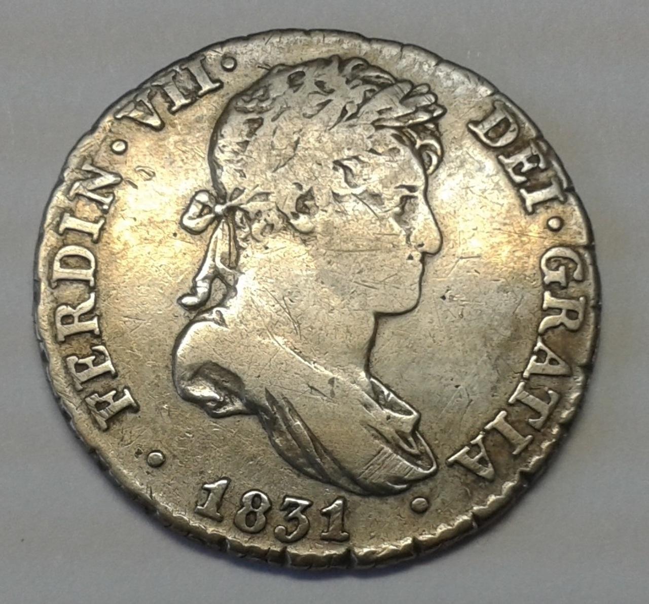 1 Real 1831 - Fernando VII 20141025_140453
