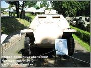 Немецкий средний полугусеничный бронетранспортер SdKfz 251/1 Ausf D, Музей Войска Польского, г.Варшава, Польша.  Sd_Kfz_251_001