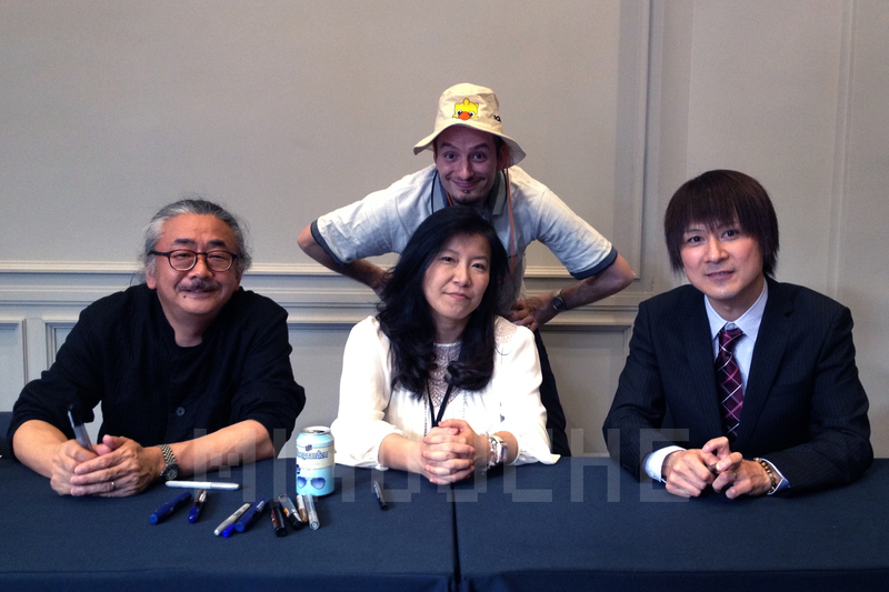 """Concert """"Press start"""" à Paris avec Mitsuda / Shimomura / Uematsu... y-étiez-vous ? Rencontre_1"""