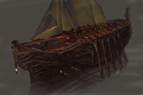 [Halloween T4]  Dark Souls Voyager. My_ship