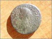 Dupondio Colonia Romula (época de Tiberio) P1280283