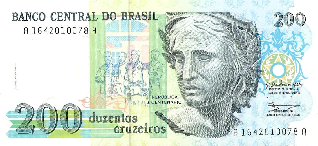 200 Cruzeiros Brasil, 1990 Escanear0003