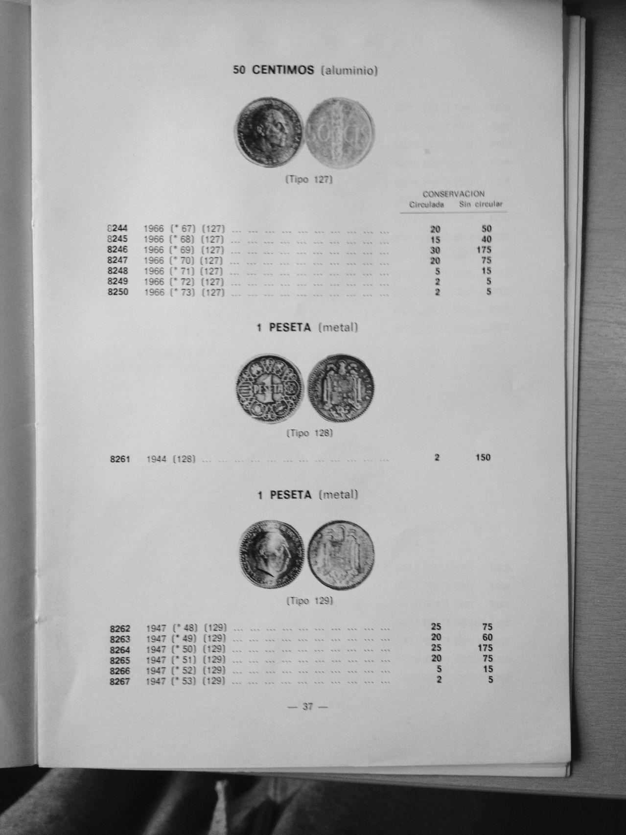 La leyenda de las monedas de 1 peseta año 1944 (Las famosas del 1) Image