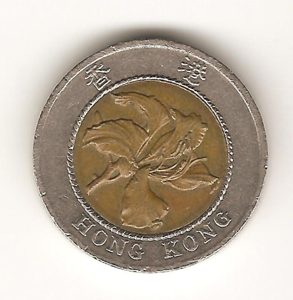 10 dolares de Hong - kong año 1995 Image