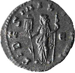 Glosario de monedas romanas. ESTANDARTES. Image