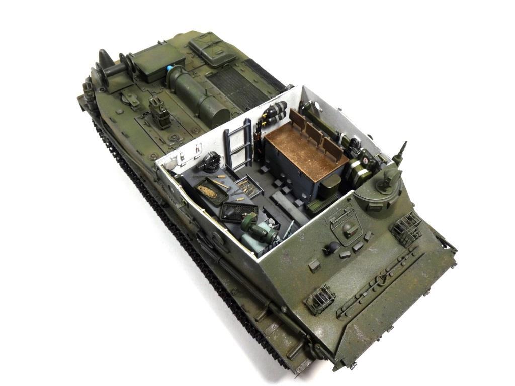 МТП на базе БТР-50ПК ГОТОВО - Страница 6 DSC01195