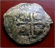 8 reales de 1684. Carlos II, Potosí 57_26