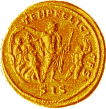 Glosario de monedas romanas. ESTACIONES, Las cuatro .. Image