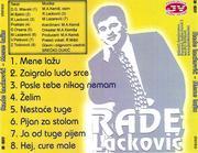 Rade Lackovic - Diskografija 1994_z