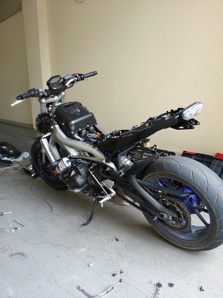 Race Blu <3 Moto_naked