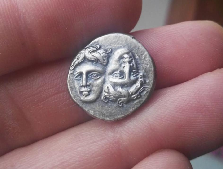 Dracma Istros (340 - 313 a.C.). Istos_2