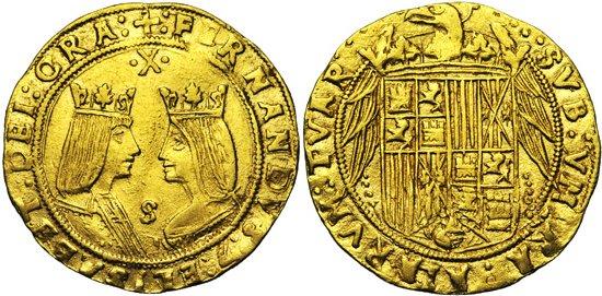 Doble excelente a Nombre de los Reyes Catolicos. Sevilla. Untitled