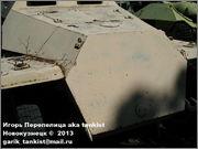 Немецкий средний полугусеничный бронетранспортер SdKfz 251/1 Ausf D, Музей Войска Польского, г.Варшава, Польша.  Sd_Kfz_251_006