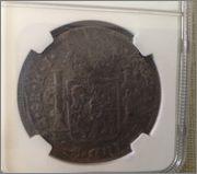 8 Reales 1811 Fernando VII ,Mo , doble resello ,CHILPANZINGO /MORELOS Image
