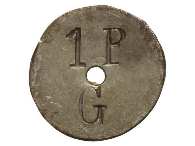 Moneda de 5 Cts. Gratallops rarísima 115589l