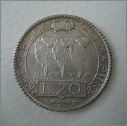 20 Lire 1932 Republica de San Marino  Image