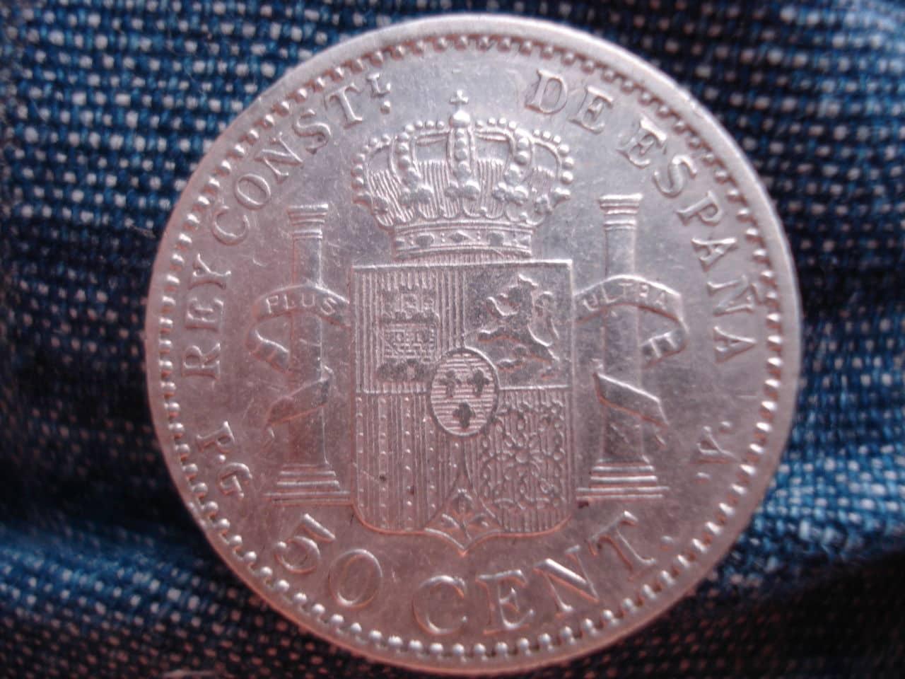 50 céntimos 1896 Alfonso XIII. DSC03188