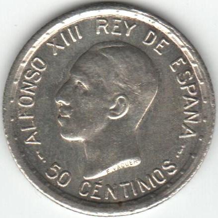 50 centimos Alfonso XIII 1926, ayuda con conservacion, todas parecen sc Dibujo7