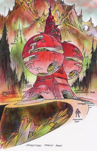 SITE WEB - Transformers (G1): Tout savoir en français: Infos, Images, Vidéos, Marchandises, Doublage, Film (1986), etc. - Page 2 Decepticon_forest_base