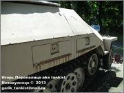 Немецкий средний полугусеничный бронетранспортер SdKfz 251/1 Ausf D, Музей Войска Польского, г.Варшава, Польша.  Sd_Kfz_251_038