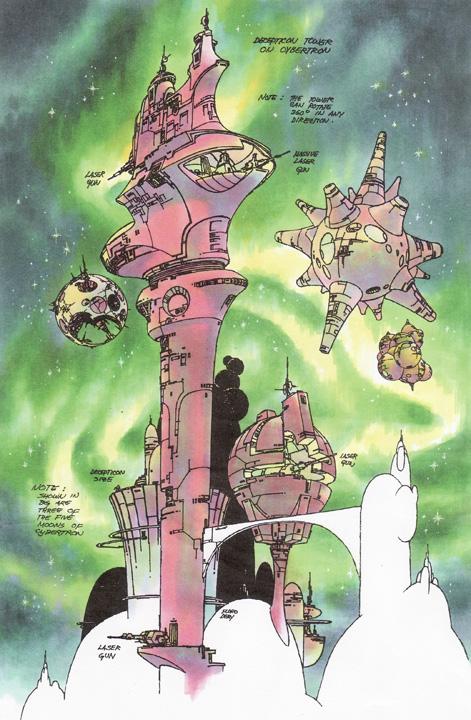 SITE WEB - Transformers (G1): Tout savoir en français: Infos, Images, Vidéos, Marchandises, Doublage, Film (1986), etc. - Page 2 Decepticon_Tower_on_Cybertron