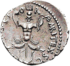 Glosario de monedas romanas. ESCILA. Image