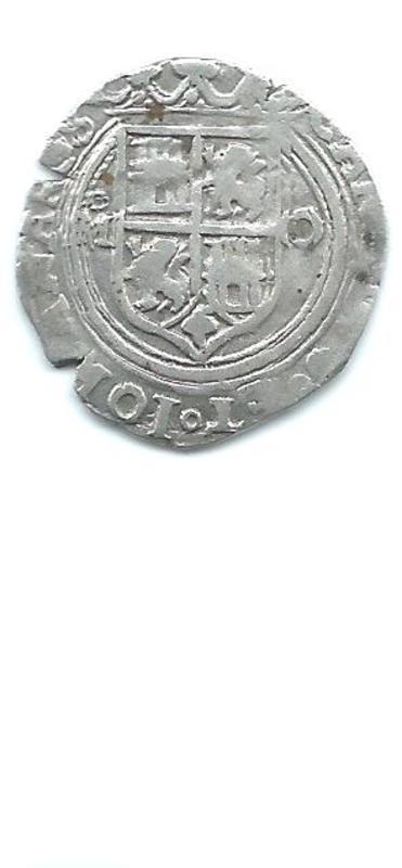 1 real. Juana y Carlos. Méjico (c.1564 - 1567) Image