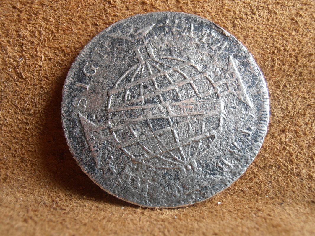 8 reales 1805. Carlos IV. Méjico. Alguna forma de identificar si mi moneda ha estado algunos siglos bajo el agua? P5298603
