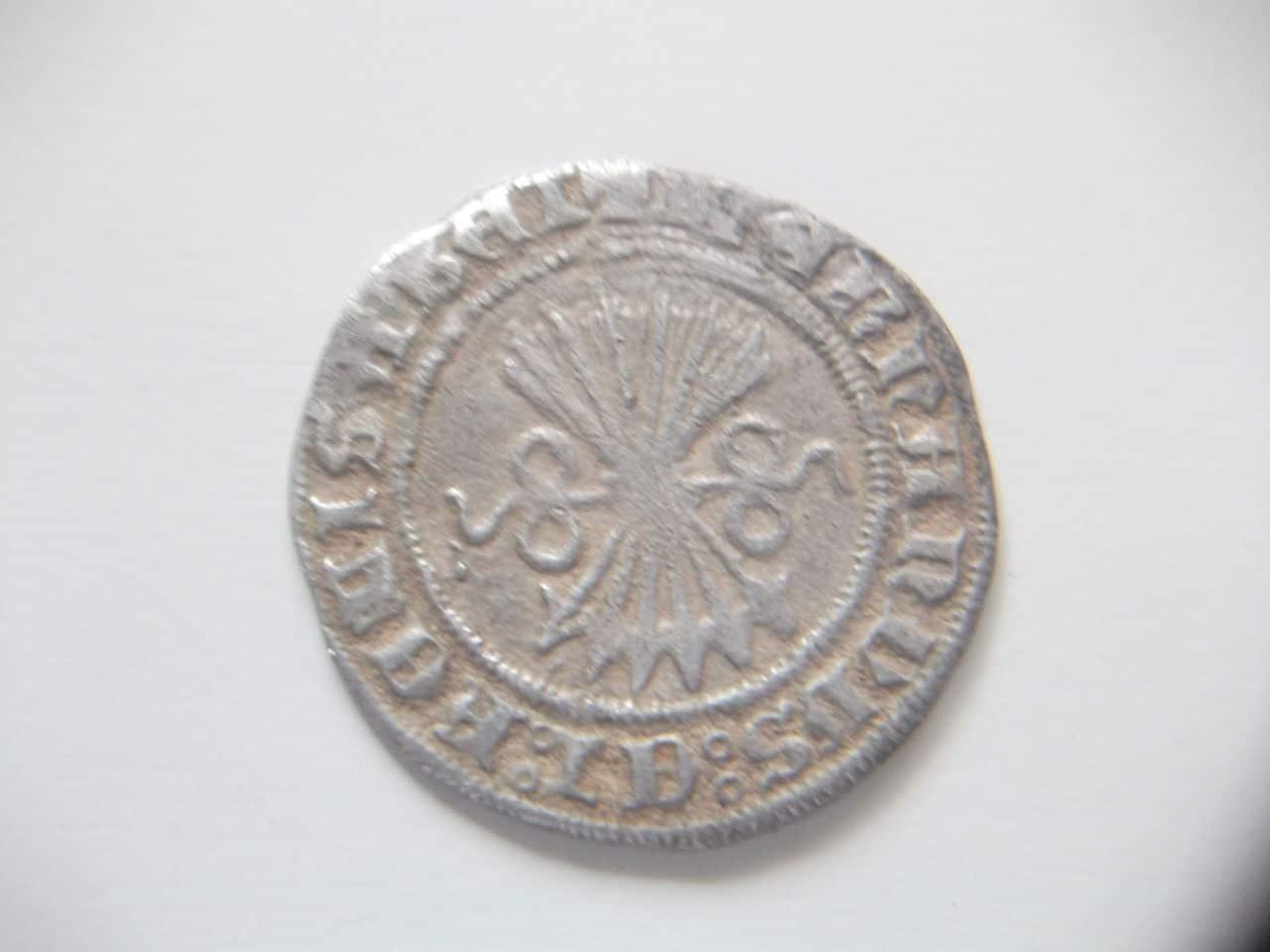 Medio real a nombre de los Reyes Católicos. Burgos DSCF1991