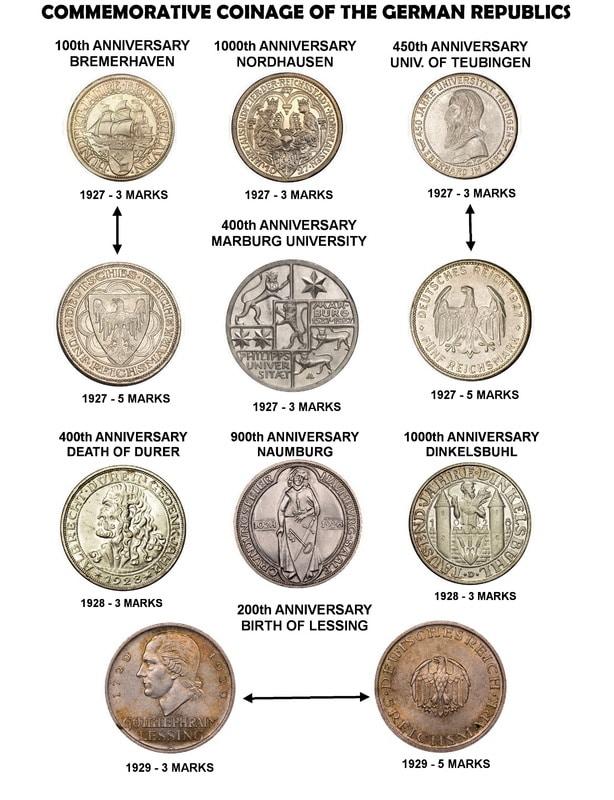 Monedas Conmemorativas de la Republica de Weimar y la Rep. Federal de Alemania 1919-1957 Pagina_2