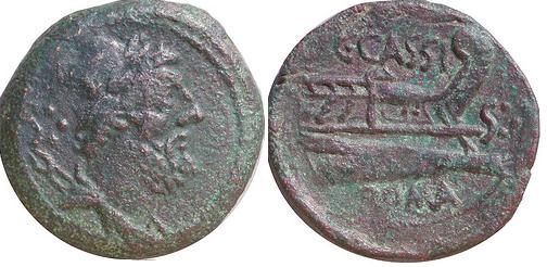Glosario de monedas romanas. DODRANS. Image