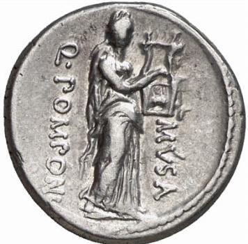 Glosario de monedas romanas. ERATO. Image